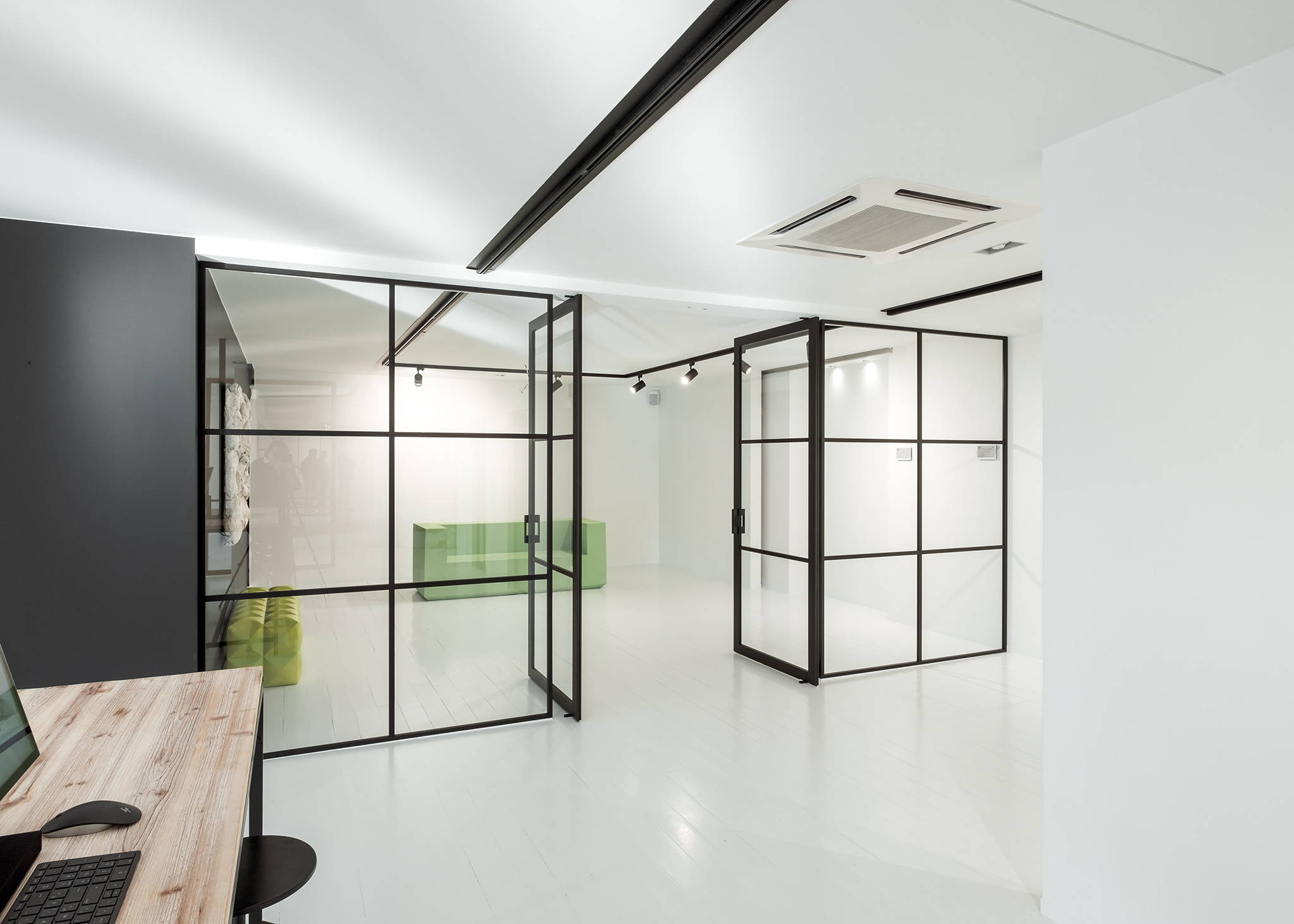 Frame Office Partition