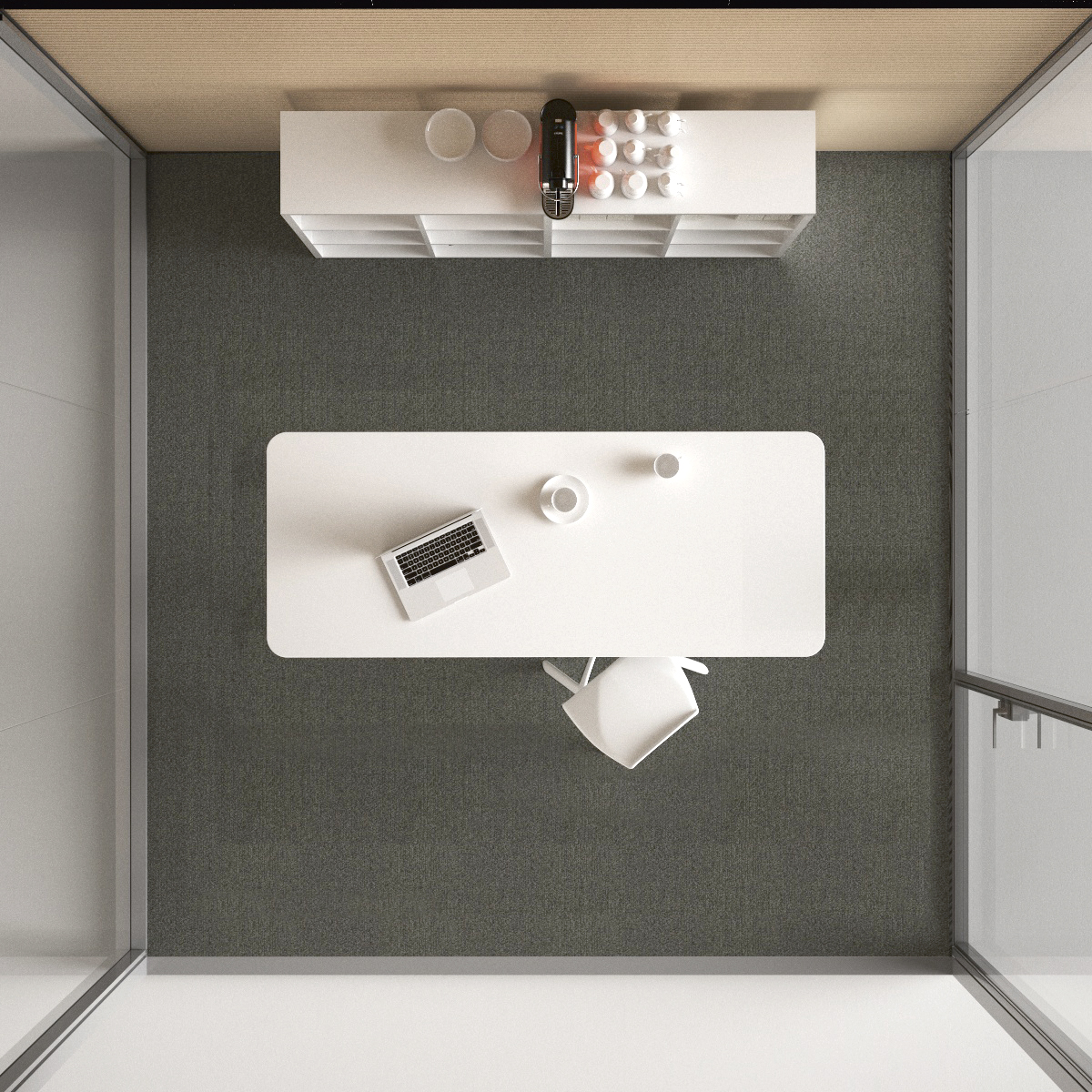 Soundproof Cube Coffee Room