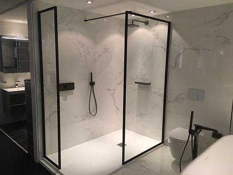 Frame Fixed shower Panels