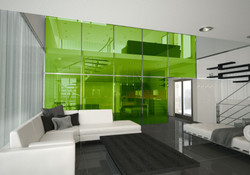 Laminated Glass Green