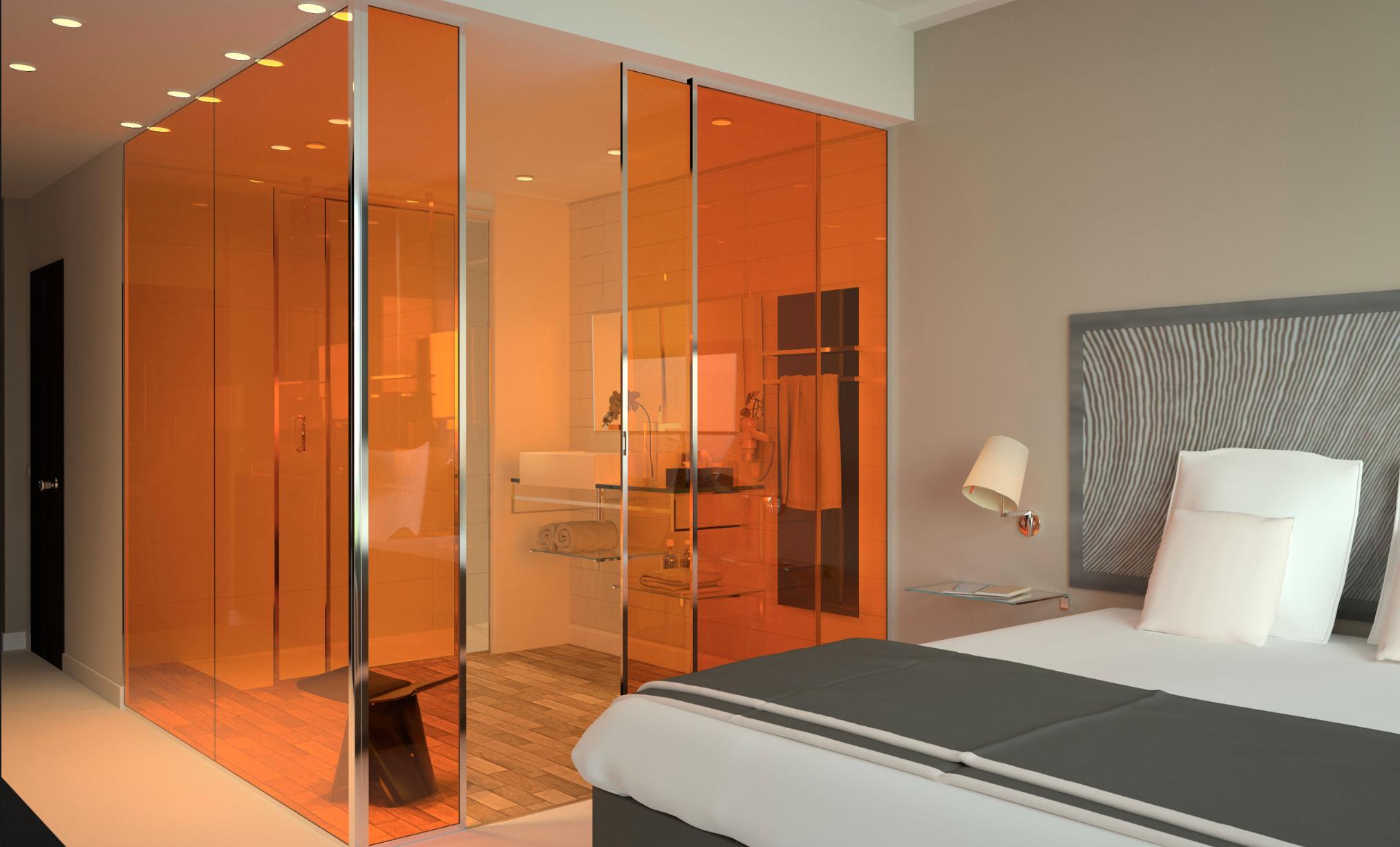 Laminated Glass Orange