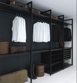 Stylish Open Wardrobe