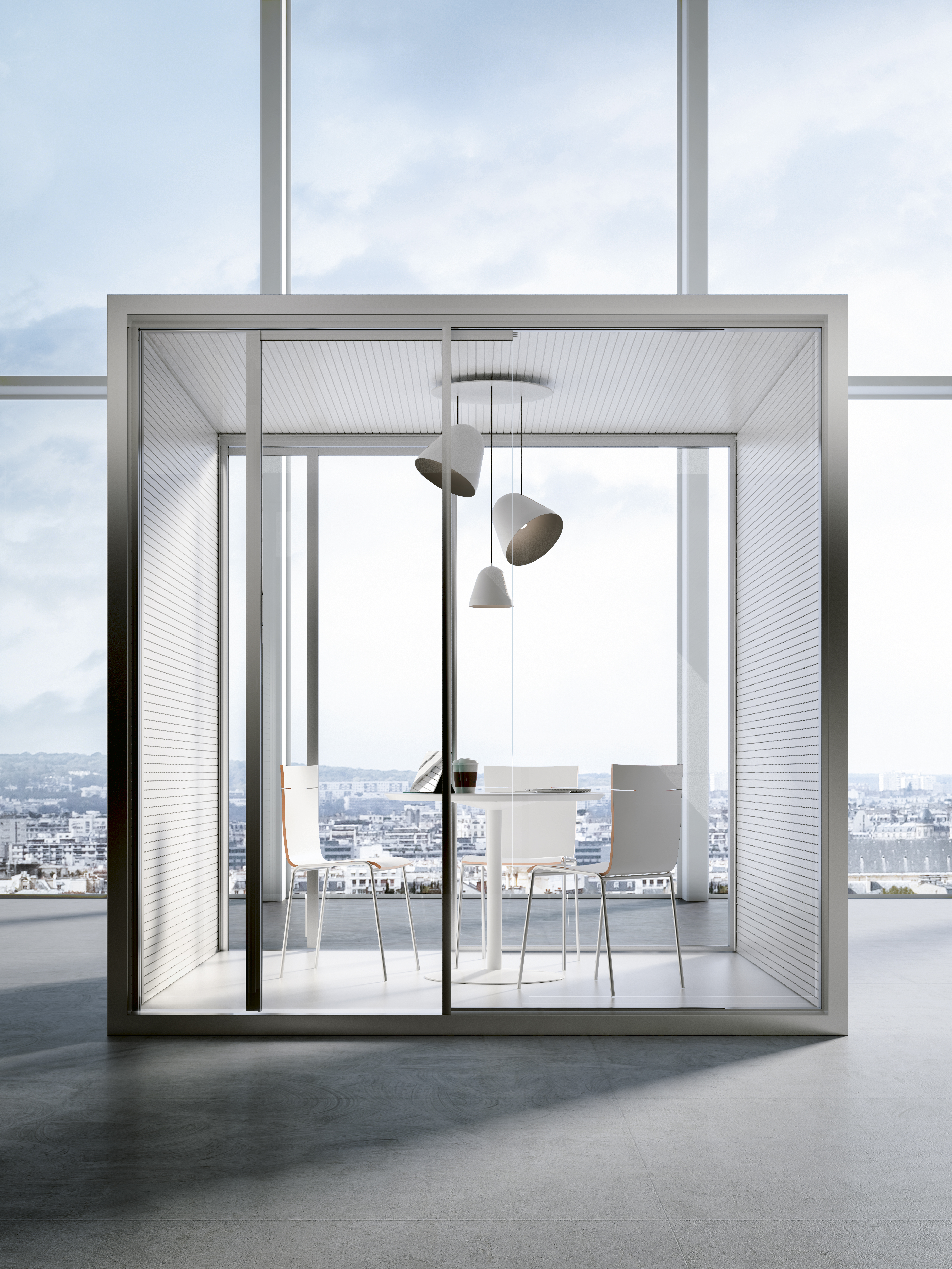 Soundproofing Glass Cube