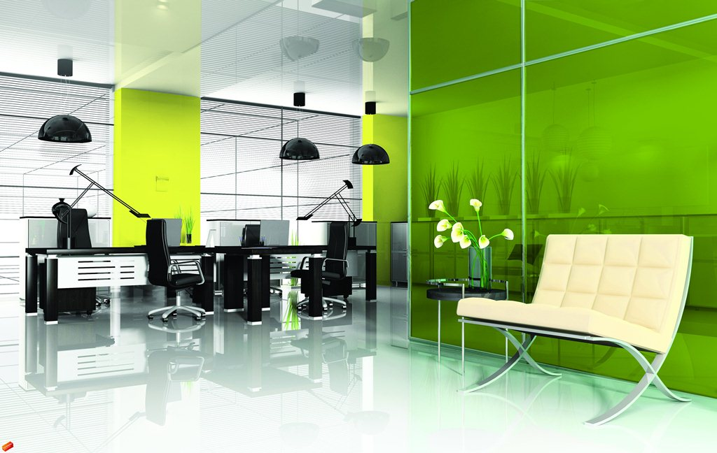 Laminated Glass Green
