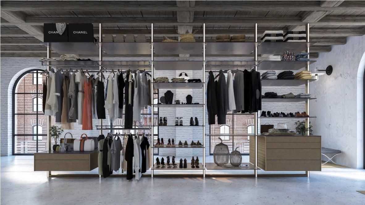 Open Wardrobe Display