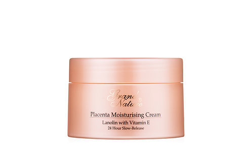 Placenta Moisturising Cream Lanolin with Vitamin E 24 Hour Slow-Release