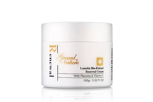 Lanolin Bio-Extract Renewal Cream with Placenta & Vitamin C