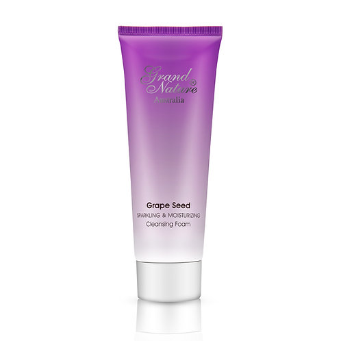 Grape Seed Sparkling & Moisturizing Cleansing Foam
