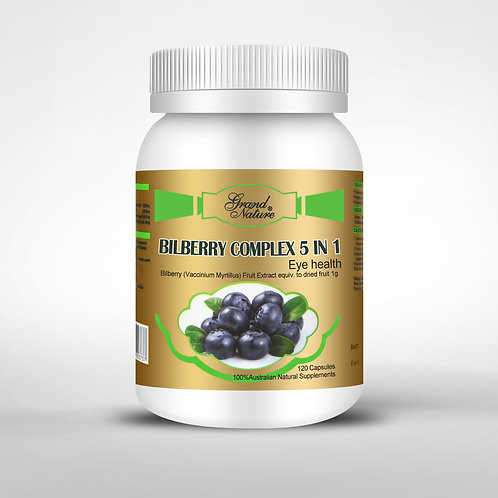 Bilberry Complex 5 in 1 Eye health