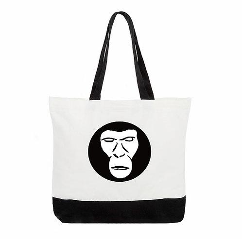 Apemen two tone deluxe tote bag