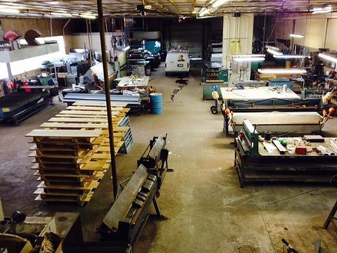 Central Sheet Metal - Fabricatin Shop