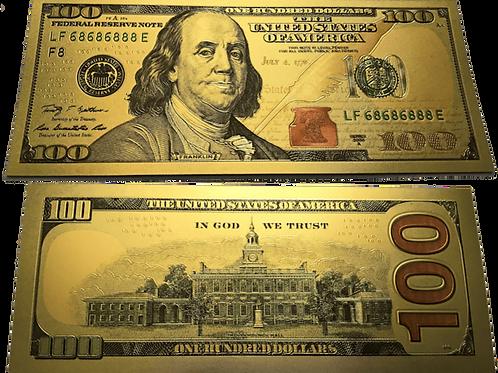 Manifest Prosperity: Golden Note ($100)