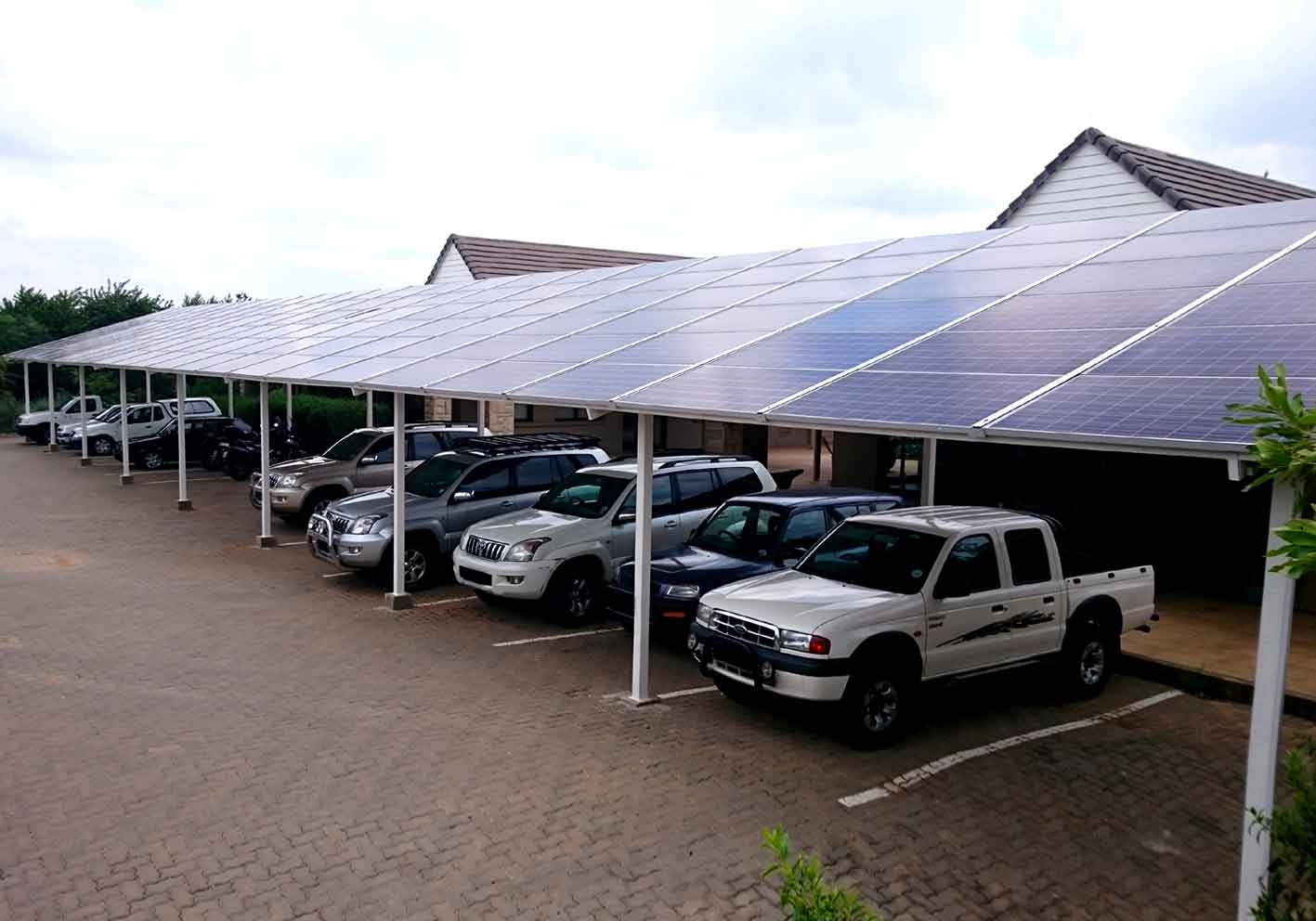 Home Solar Carport System : Solar carport cdd pv mounting structures and monitoring
