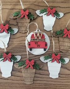 Ornaments - Set of 5