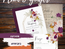 Beautiful Lowest BUDGET Wedding Invitations from 0.40!