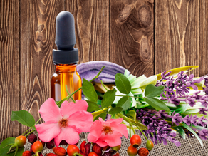 How I made infused Rosehip and Lavender Oil - DIY natural beauty