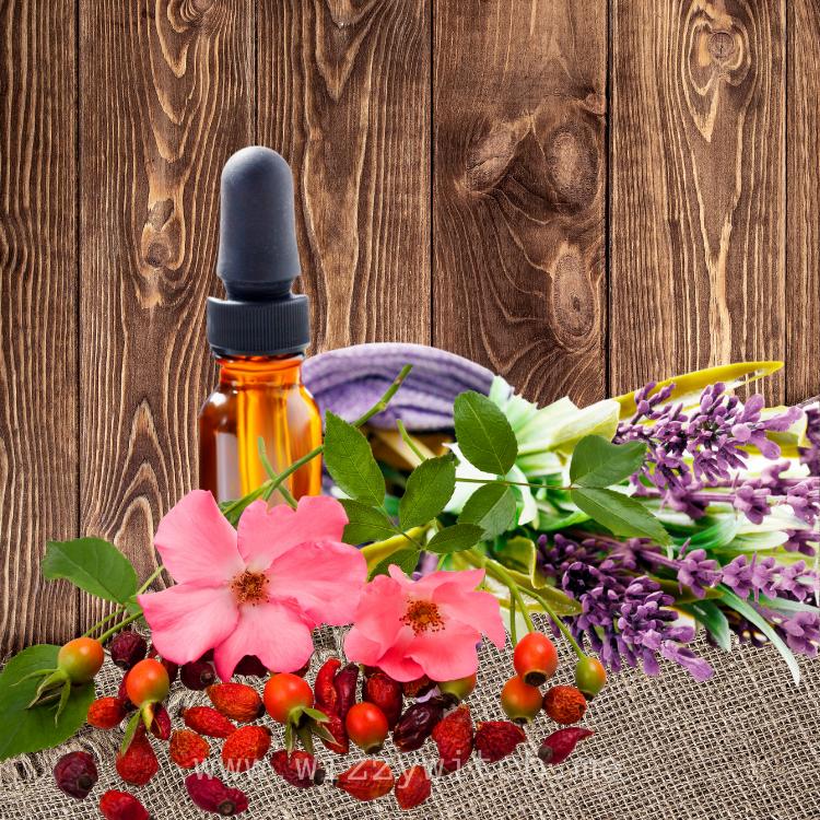 DIY Rosehip and Lavender Oil