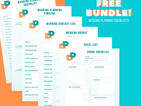 Grab Your FREE Wedding Planning Checklist Printables Today!