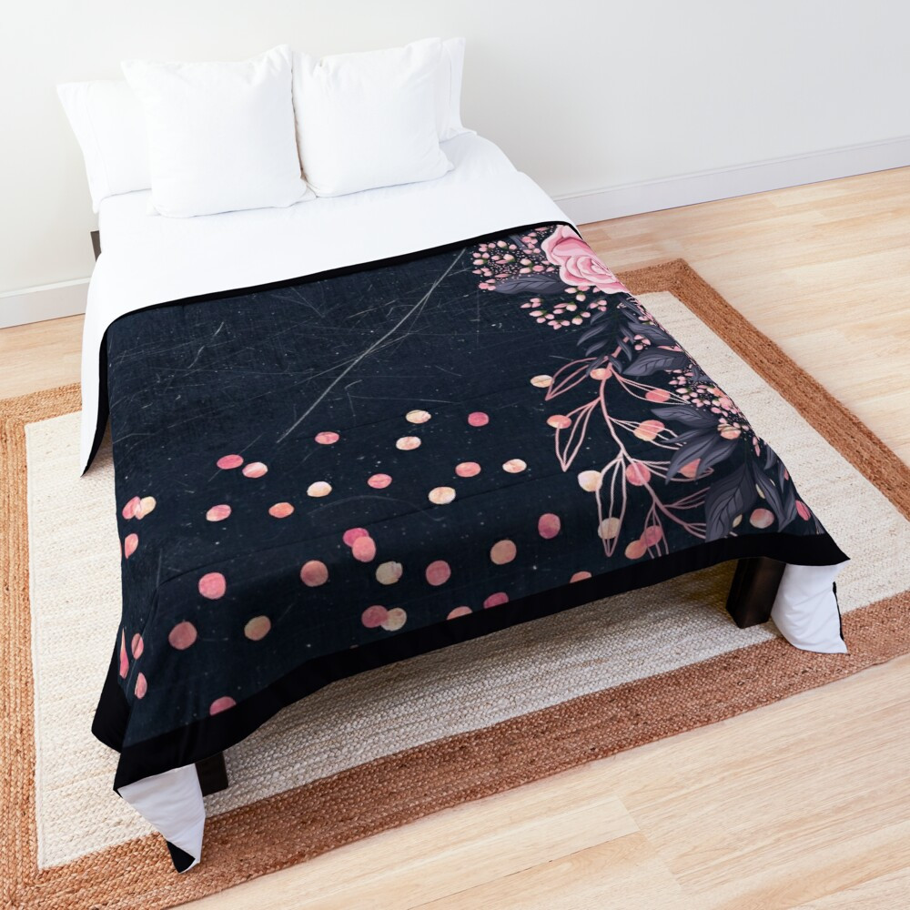 pretty girly designs bedding