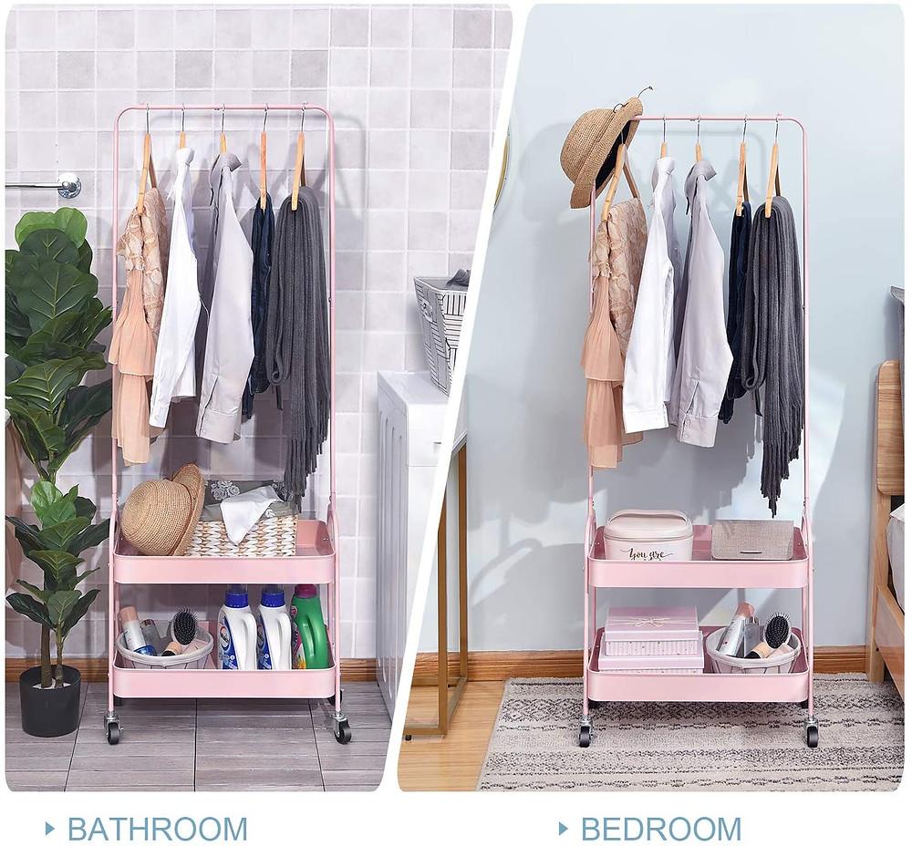 small bedroom clothes storage ideas