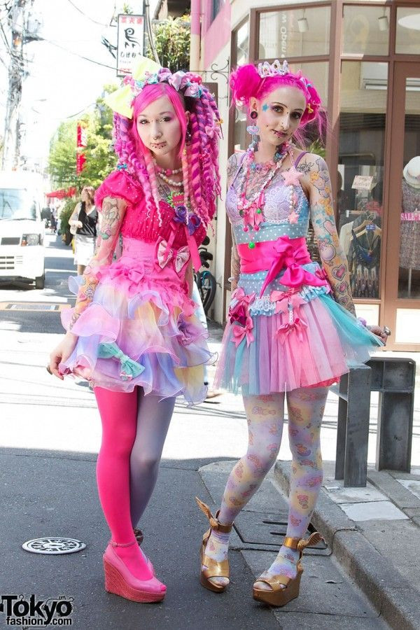 pretty girly designs softgirl fashion harajuku
