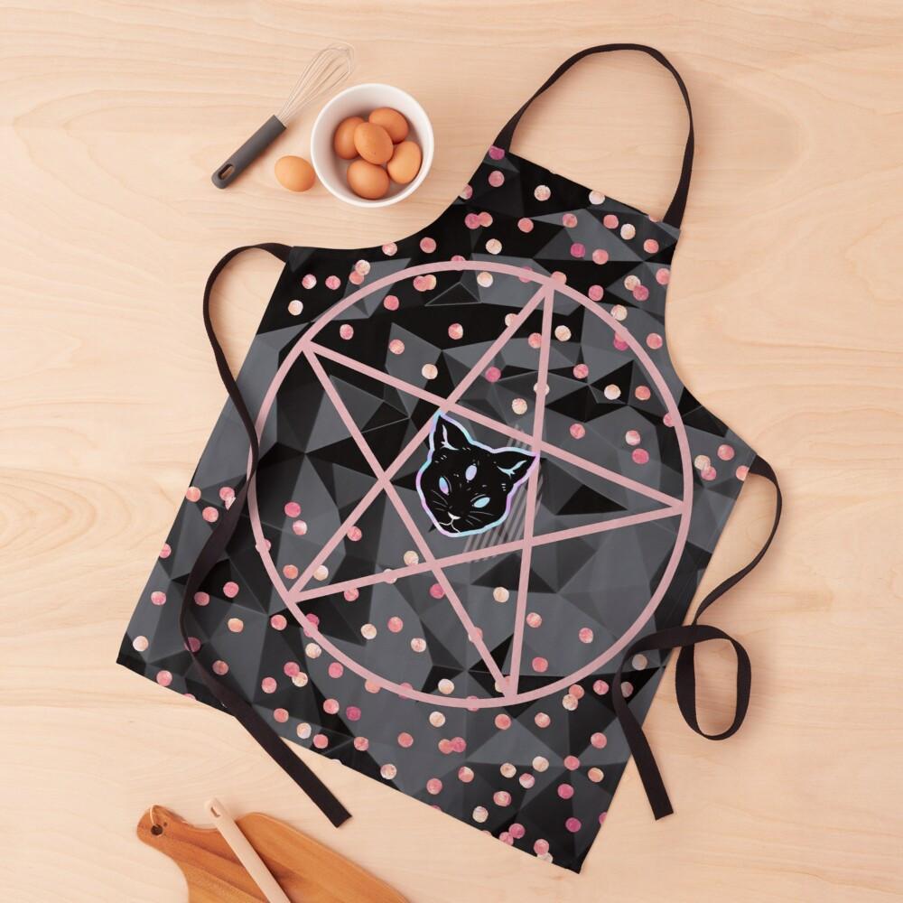 pretty girly designs modern teen witch apron