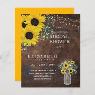 budget_bridal_shower_invite_rustic_sunfl