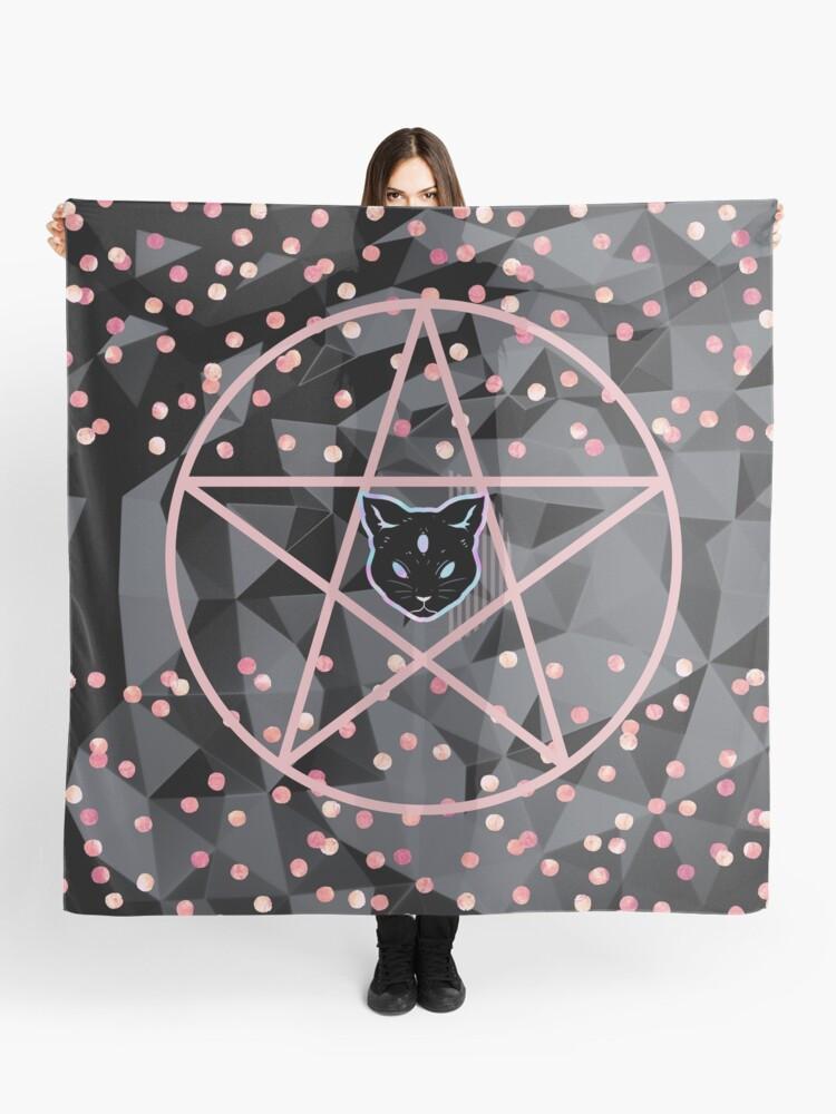 pretty girly designs modern teen witch scarf