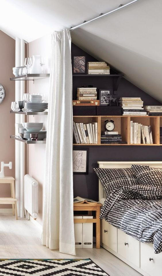 Under stairs bedroom