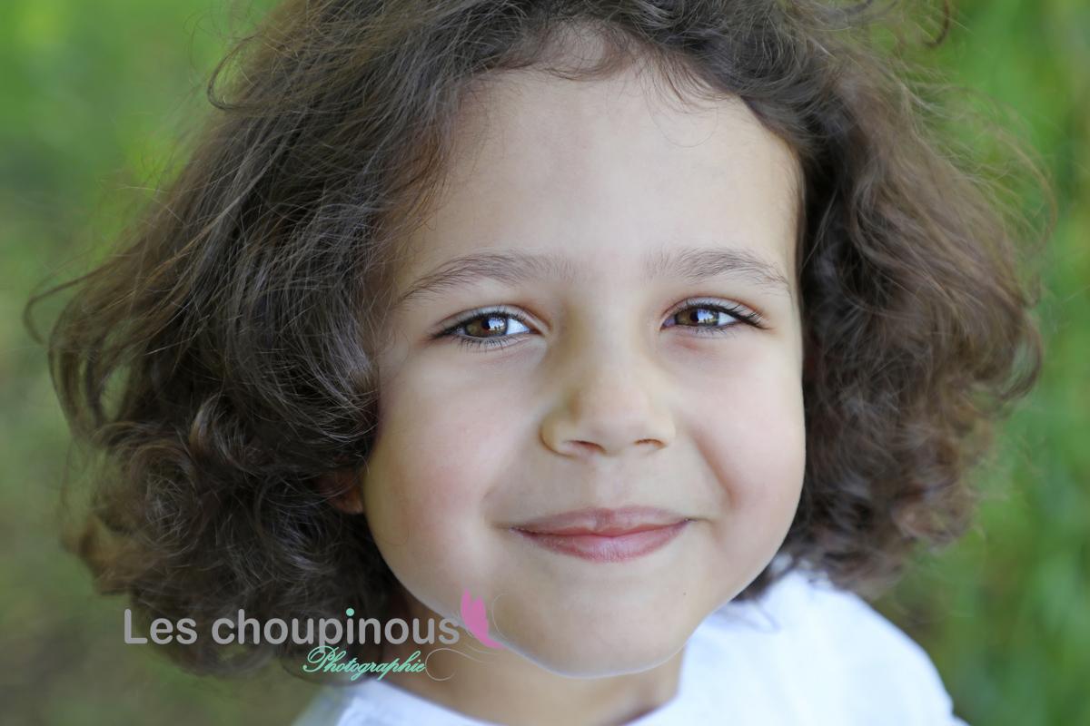 close up petit fille