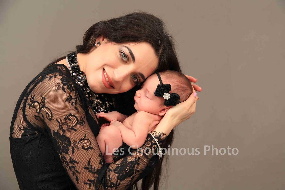 photo Maman et son bébé