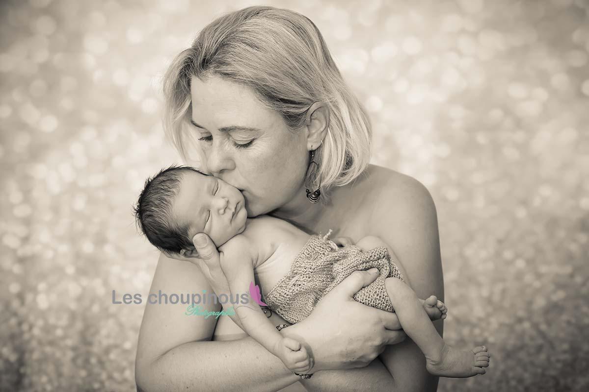 shooting photo maman et bébé alsace