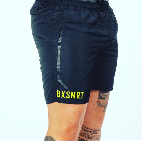 BXSMRT Training Shorts (Black/Green)