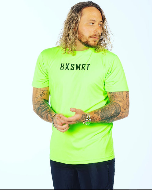 BXSMRT Performance T-shirt (Lightning Green)