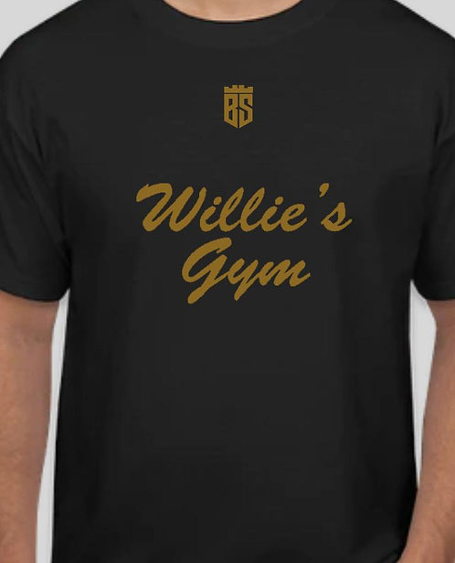 Willie's Gym Black T-Shirt