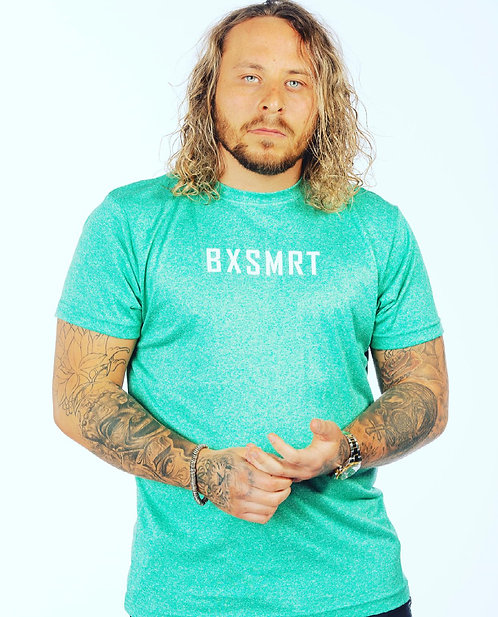 BXSMRT Performance T-shirt (Turquoise Melange)