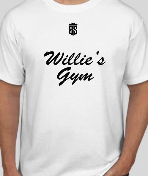 Willie's Gym White T-Shirt