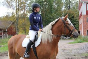 Daniela Holmlund Horse&Rider in Motion 2018 -tunnelmia