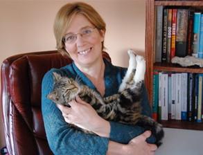 Horse&Rider in Motion luennoija Elizabeth Uhl D.V.M Ph.d DACVP on eläinlääkäri ja patologi Georg