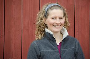 Ratsastajan istunnan monipuolinen asiantuntija Annika Schulman luennoi Horse & Rider in Motionis