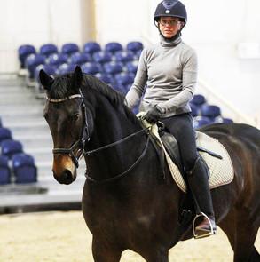 """Mia Wollstenin tunnelmat: """" Hevosella on tapana jäädä jumiin kun työntö on suurta mutta etupain"""