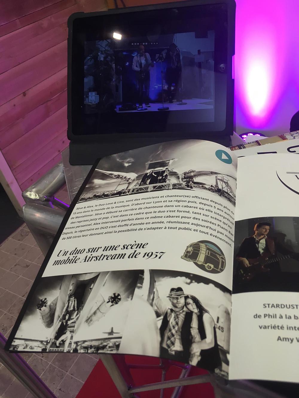 Concert promotionnel pour beforlive pour les événements professionnels business au SBE de Lyon