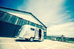 Caravane Airstream mariage