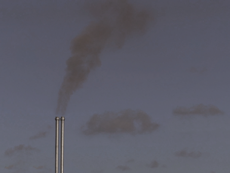 """Chimneys visible from """"Four Marks to Farnham"""""""