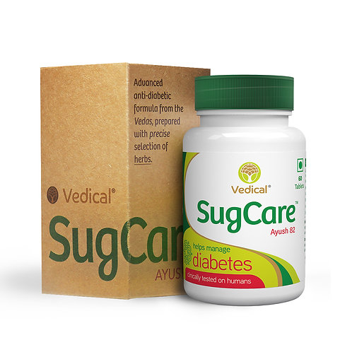 SugCare™ Tablets  (AYUSH 82) – Helps Manage Diabetes