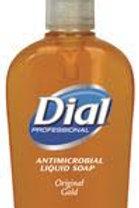DIAL Dial Gold Antimicrobial Liquid Hand Soap - 12/7.5 oz Pump
