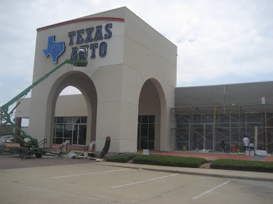 Texas auto buildout- Webster,Tx