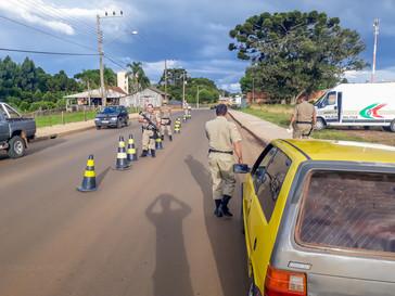 Polícia Militar realizou operações em Campo Belo do Sul