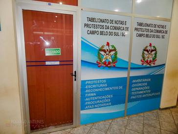 Três escritórios amanheceram arrombados em Campo Belo do Sul