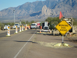 Route d'Arivaca:  Border patrols ...